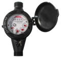 """3/4"""" Plastic Home Cold Water Meter"""
