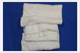 WHITE T-SHIRT RAGS  / 50 LB BOX