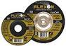 FLEXOVIT 7 X 1/4 X 7/8 FLEXON GRINDING WHEEL/DISC FAST GRIND ZA24P A5224