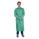 "TILLMAN 50"" GREEN WELDING SHOP COAT FLAME RETARDANT 6250-2X"