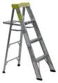MICHIGAN 6' ALUMINUM STEP LADDER 225 # RATED 3310-06