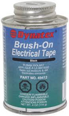 DYNATEX BRUSH ON ELECTRICAL TAPE 4 OZ BLACK 49412