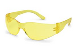 STARLITE AMBER TEMPLE, AMBER LENS SAFETY GLASSES 4675