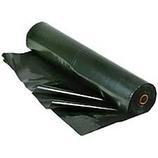 BLACK PLASTIC SHEETING - 6 mil / 20' x 100'
