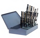 ITM 19 PIECE CARBON TAP AND DRILL BIT SET - SP-019