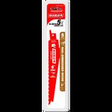 """DIABLO 6"""" Bi‑Metal Recip Blade for Nail Embedded Wood"""