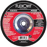 "FLEXOVIT 6"" X 1/4"" X 7/8""  A30S TYPE 27 DEPRESSED CENTER GRINDING DISC/WHEEL 25/BX A3236"