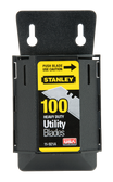 STANLEY 1992 HD UTILITY BLADES, 100 PACK W/DISPENSER - 11-921A