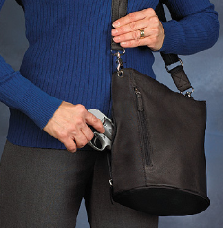Tote bags are a great casual way to carry your concealed pistol