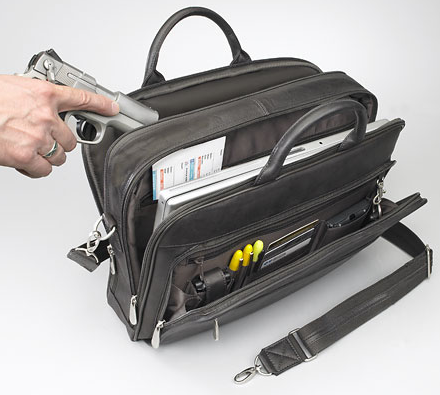 Concealed Carry Briefcase makes your life easier