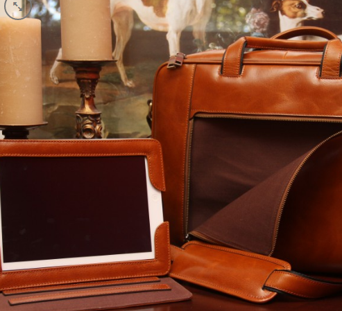 Aged Brown Briefcase is one of the excellent large concealed carry purses