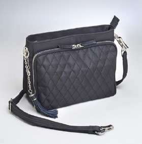 Quilted Concealed Carry Shoulder Clutch