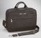 Concealed carry briefcase has stylish design for work support and protection