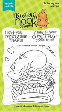 Newton's Naptime | 3x4 Photopolymer Stamp Set | Newton's Nook Designs