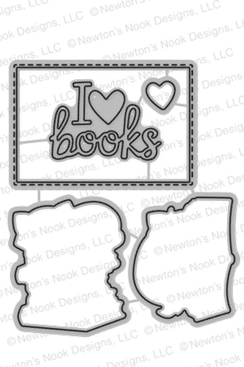 Newton's Book Club Die Set by Newton's Nook Designs