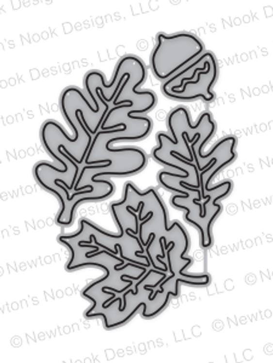 Autumn Leaves  Die Set by Newton's Nook Designs