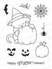 Newton's Perfect Pumpkin | 3x4 photopolymer Stamp Set | Newton's Nook Designs