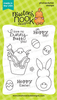 Bunny Hop | 3x4 Photopolymer Stamp Set | Newton's Nook Designs