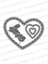 Darling Hearts | Die Set | Newton's Nook Designs