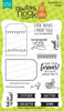 Tag Sampler Stamp Set by Newton's Nook Designs