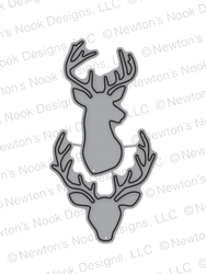 Splendid Stags Die set by Newton's Nook Designs