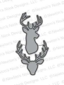 Splendid Stags Die set by Newton's Nook Designs
