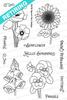 Flower Garden Stamp Set by Newton's Nook Designs