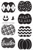 Pick-a-Pumpkin | 4x6 Photopolymer Stamp Set | Newton's Nook Designs