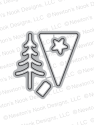 Festive Forest Die Set by Newton's Nook Designs
