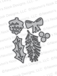 Pines & Holly Die Set by Newton's Nook Designs