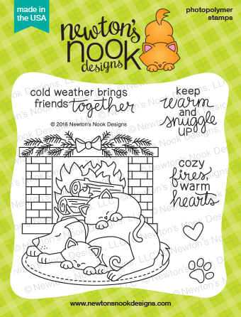 Fireside Friends Stamp Set by Newton's Nook Designs