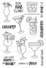 Cocktail Mixer Stamp Set by Newton's Nook Designs