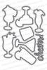 Cocktail Mixer Die Set by Newton's Nook Designs