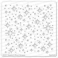 Starfield Stencil by Newton's Nook Designs