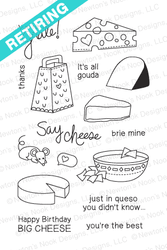 Just Say Cheese Stamp Set by Newton's Nook Designs