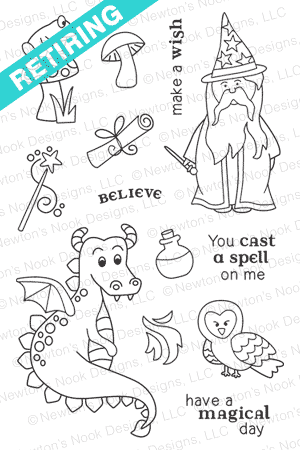 Magical Dreams Stamp Set by Newton's Nook Designs