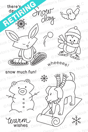 Snow Day Stamp Set by Newton's Nook Designs
