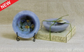 Habersham Personal Space Wax Pottery Vessel - Lavender Chamomile- #05 With Free Stand