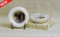 Habersham Personal Space Wax Pottery Vessel - Lilac Blossom #04 With Free Stand with Free Stand