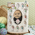 Baby's First Year Owls Collage Frames