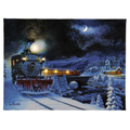 "Mr. Christmas 16"" x 20"" IlluminArt Lighted Canvas #161- Christmas Express"