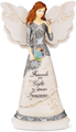 "Friendship 8"" Angel Holding Butterfly Figurine"