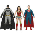 Batman Vs. Superman: Dawn Of Justice Set Of 3 Bendable Action Figure