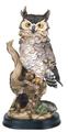 Owl Perching Collectible Wildlife Animal Figurine Statue