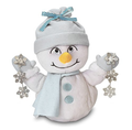 Chantilly Lane 10 Snowflake Snowman Sings Let It Snow Plush