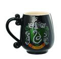 Monogram Harry Potter Slytherin Crest Ceramic Decorative Mug