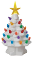 "Mr. Christmas 7"" White Lit Nostalgic Christmas Tree"