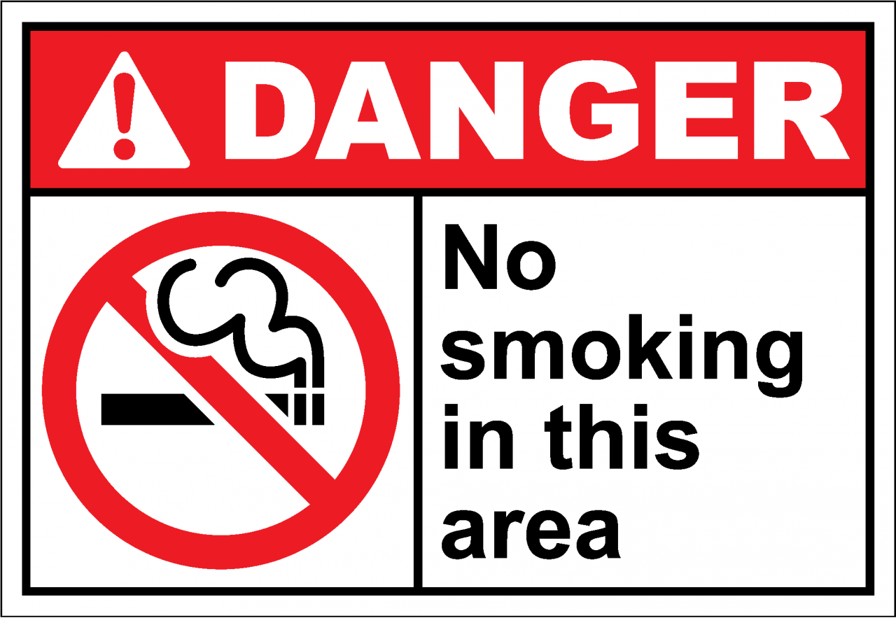 Smoke-free signage and resources - Tobacco and Smoking
