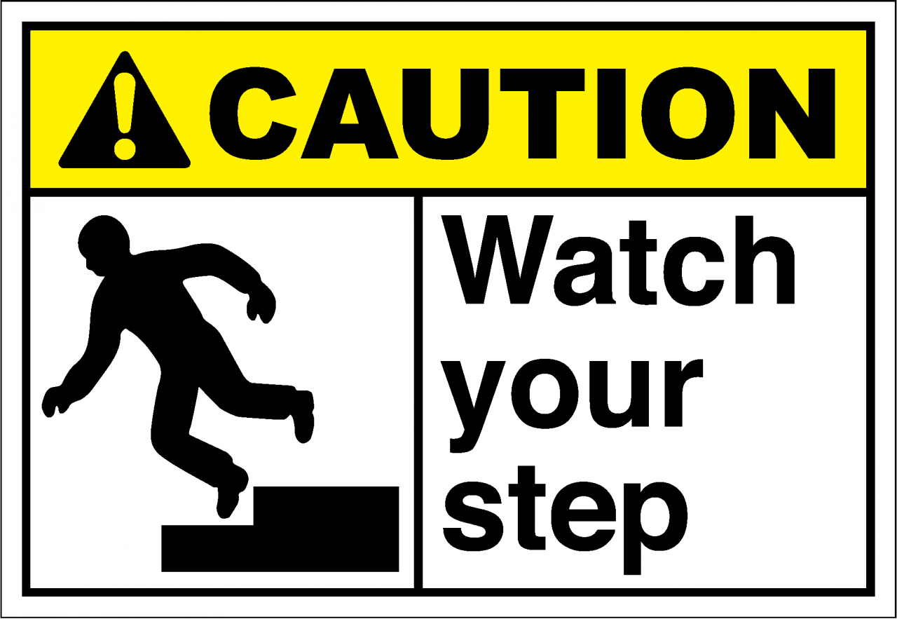 caution sign watch your step2 safetykorecom