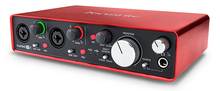 INTERFAZ DE AUDIO FOCUSRITE SCARLETT 2I4 MK2 USB